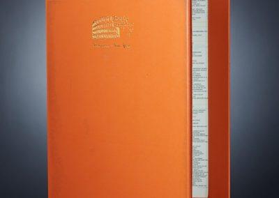 LED Backlit Menus - Custom Colors and Logo Embossing or Silkscreen.