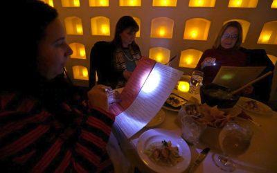 Why are restaurants so dark? – LED Menu Light