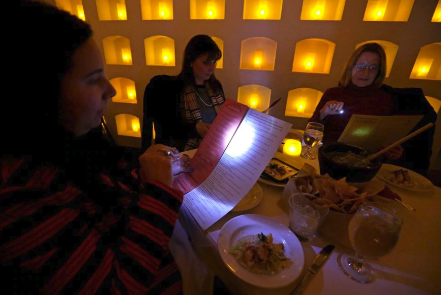 Why are restaurants so dark? – LED Menu Light