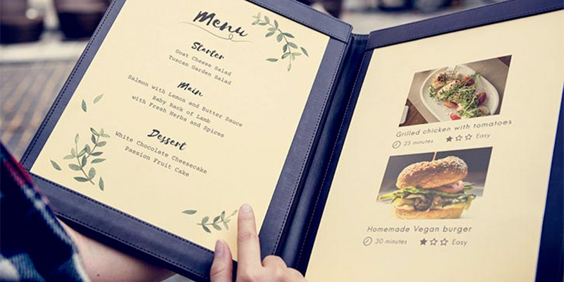 Learn 20 of the most important points you should consider before making up your restaurant menu.