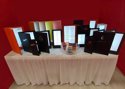 LED Menus display